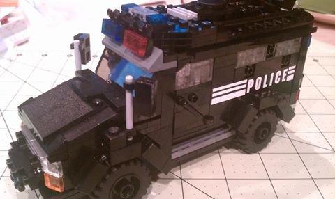 Camionnette De Police Lego