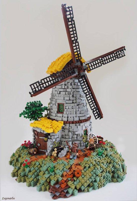 Moulin En Lego
