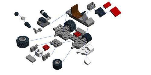 Plan De Kart En Lego