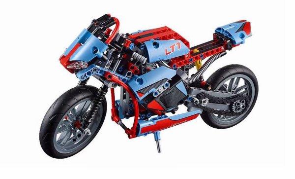 Moto Fait En Lego