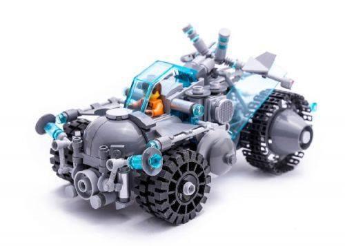 Voiture Futuriste En Lego