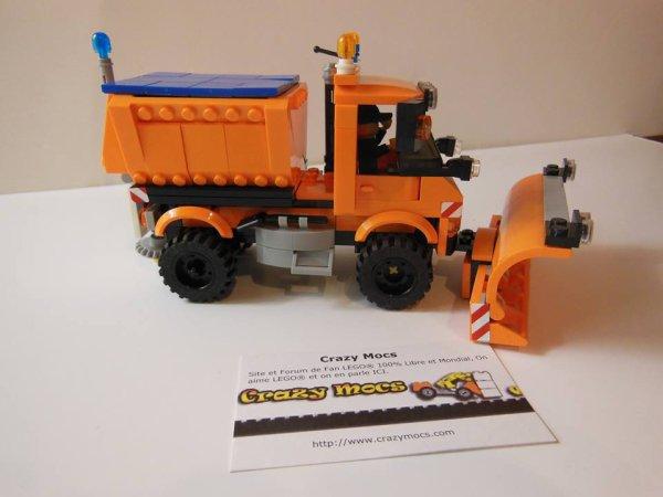 Chasse Neige En Lego