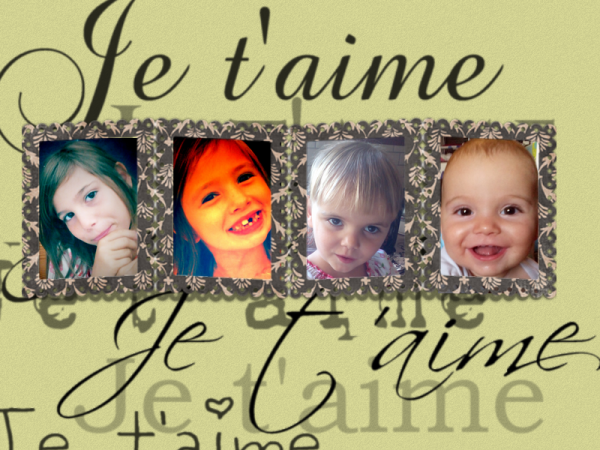 mes amours ma vie !!