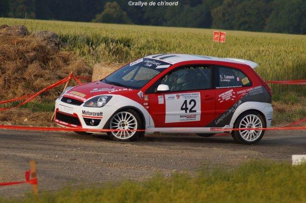 2ème de classe au rallye du ternois....