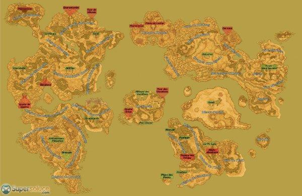 - Dragon Quest IX : Les Sentinelles du Firmament - Cartographie