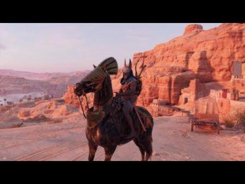 """- Assassin's Creed : Origins \Déblocage de la monture """"BOUCHE ÉTERNELLE""""/"""