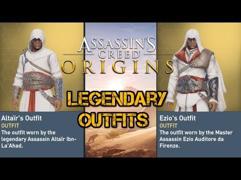 - Assassin's Creed : Origins \Déblocage des Tenues Via Ubisoft Club/
