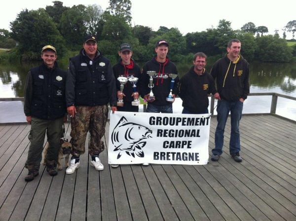 Championnat de Bretagne de pêche de la carpe 2013