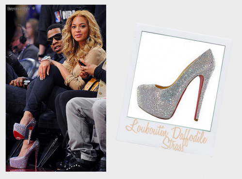 ♦  Beyonce Knowles Style Daily  ~ NBA All Star Game