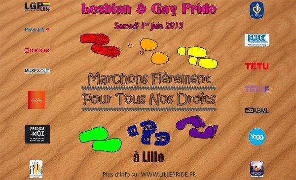 ♀♀ Lesbian & Gay Pride - Lille - 1 juin 2013 ♂♂