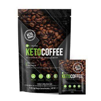 Alimentez votre corps et votre esprit avec It Works! Keto Coffee, créé par KetoWorks! Avec son beurre issu des pâturages et ses triglycérides à chaîne moyenne (TCM), ce café booste votre énergie et recharge vos batteries pour rester en forme toute la journée !  Contient des acides gras essentiels venant du beurre issu de pâturages et des triglycérides à chaîne moyenne (TCM) Contient des acides aminés essentiels et des peptides de collagène Contient du calcium qui contribue à un métabolisme énergétique normal  Booste et maintient votre niveau d'énergie Recharge votre corps et votre esprit en énergie    Procure une énergie instantanée et favorise la concentration, le tout dans des sachets individuels nomades Soutient les résultats de votre régime cétogène, faible en glucide
