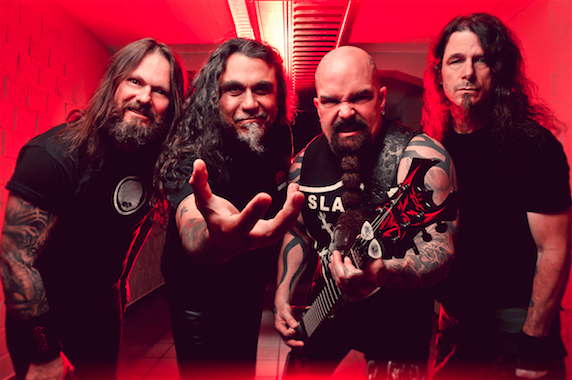 "SLAYER - Discuss The Track ""Cast The First Stone"" (OFFICIAL INTERVIEW)"