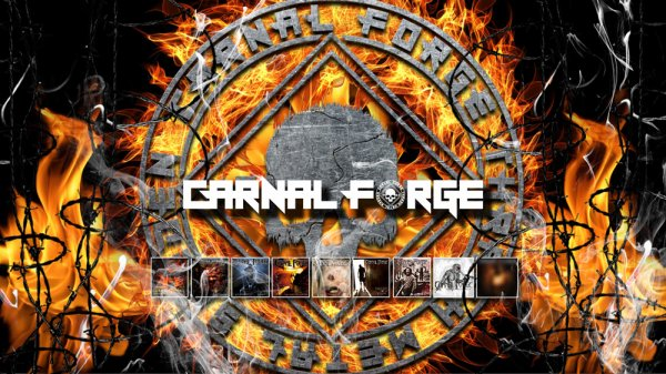 Carnal Forge - Reforged (Official Lyric Video)