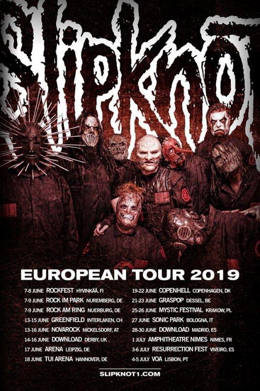 Slipknot LIVE Unsainted - Nimes, France 2019