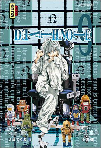 couverture du Death Note 9