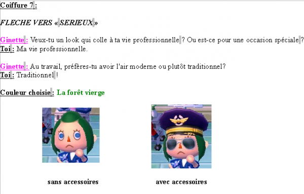 Guide des coiffures ( fille ) - Animal Crossing new leaf # 1