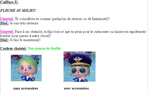 Guide des coiffures ( fille ) - Animal Crossing new leaf # 1