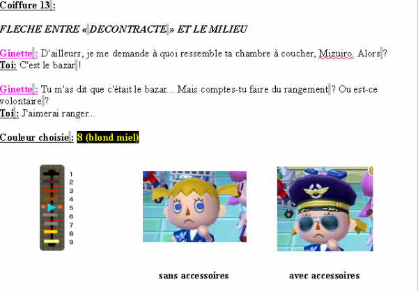 Guide des coiffures ( fille ) - Animal Crossing new leaf # 2