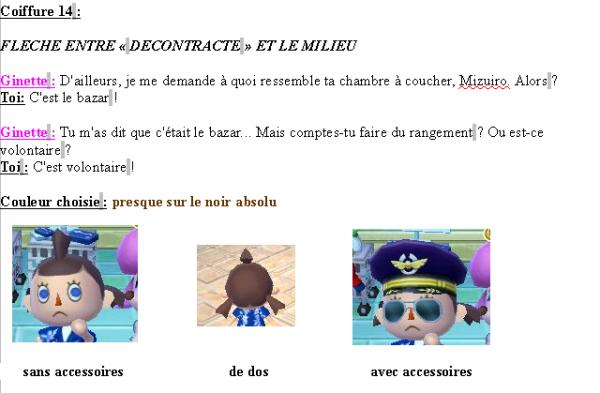 Guide des coiffures ( fille ) - Animal Crossing new leaf # 2