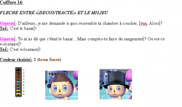 Guide des coiffures ( garçon ) - Animal Crossing new leaf # 2