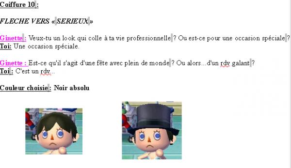 Guide des coiffures ( garçon ) - Animal Crossing new leaf # 2