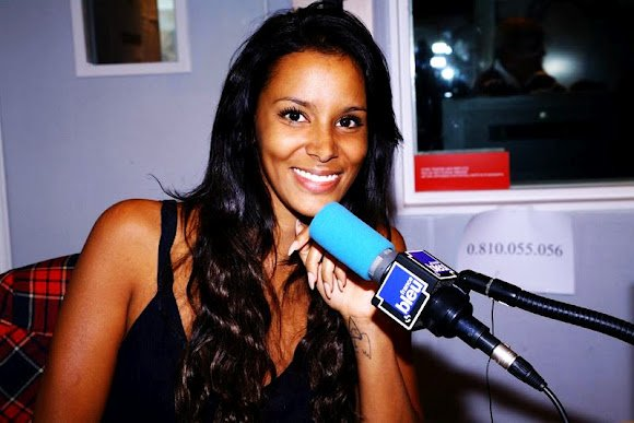 Interview shy'm sur la radio France Bleu