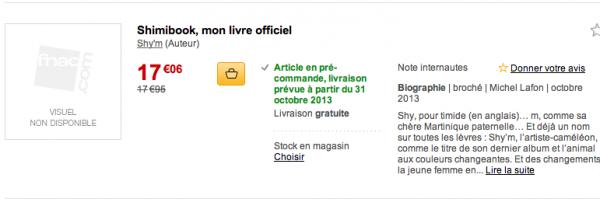 ShimiBook,mon livre officiel bientot en vente !