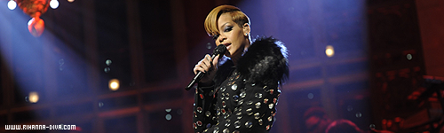 "Rihanna on ""Saturday Night Live"" show"