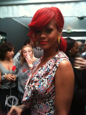 "Rihanna at ""Miu Miu"" fashion show in Paris"