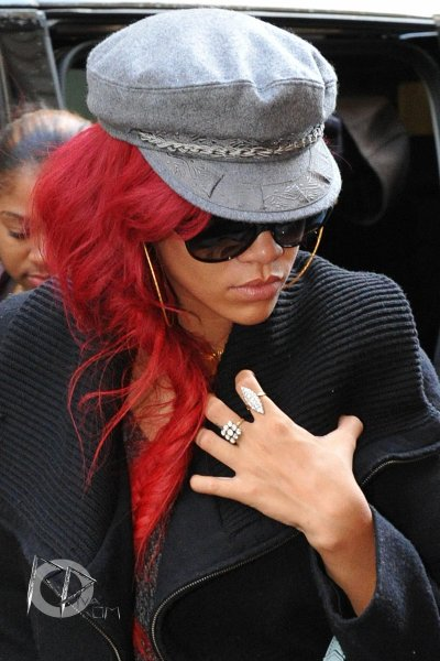"Rihanna at the shop ""Louis Vuitton"" in Paris"