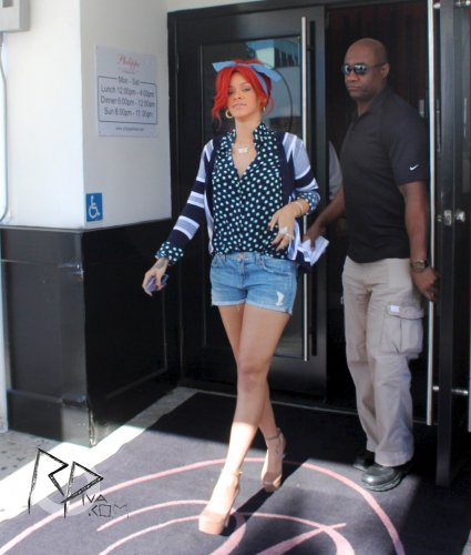 Rihanna is in New York !!