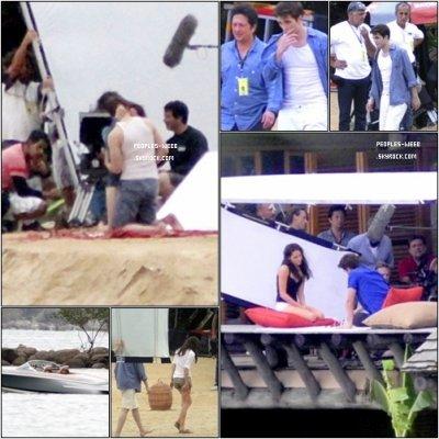 Du côté de Breaking Dawn.. Voici quelques photos du tournage à Paraty. Alors impatients?