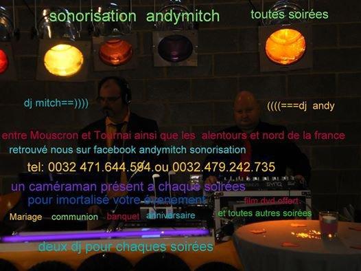 rejoigniez nous sur facebook andymitch sonorisation et sur skyblog andymitchsonorisation