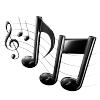 La musique nous emporte.