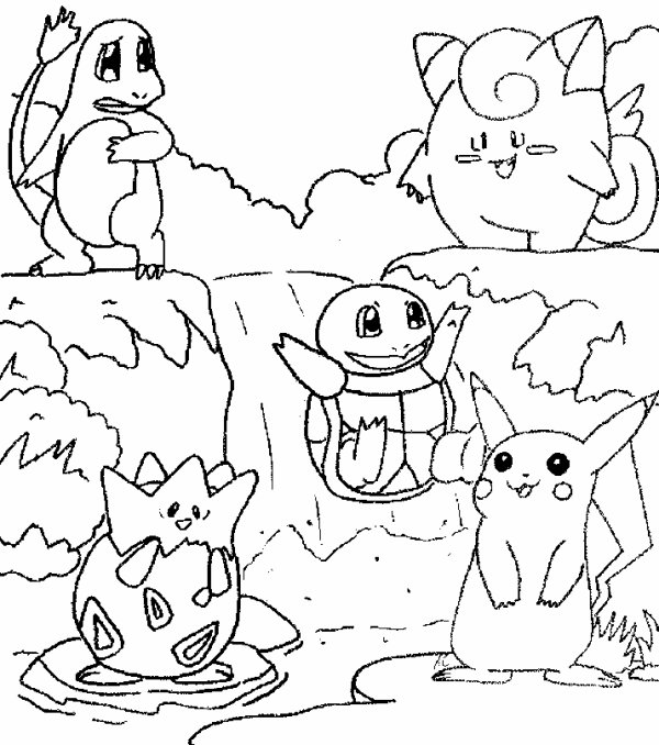 Coloriage de Pokémon (2)