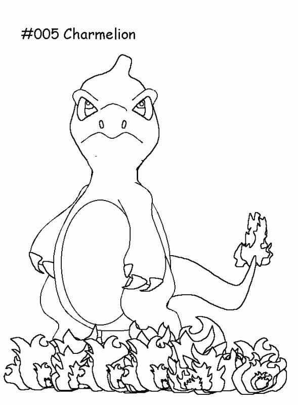Coloriage de Pokémon (2)