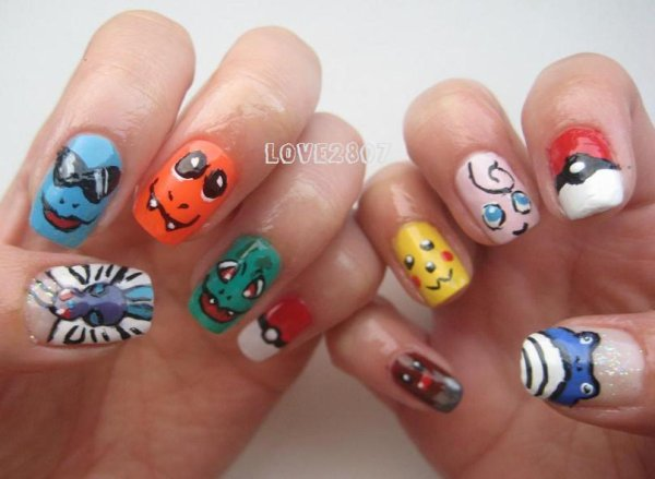 Nailart Pokémon