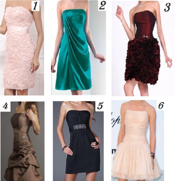 Resultat des votes des robes de soirée !!!!