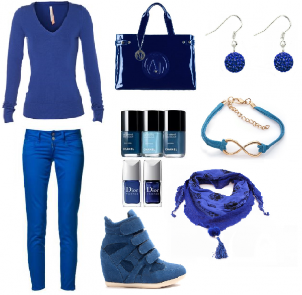 Total Look Bleu !!!!