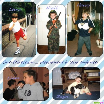 one direction... enfants!!!