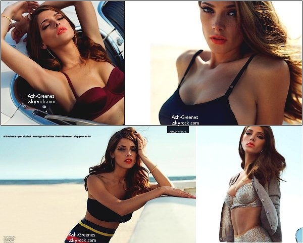 ✩ Pour ce mois de Novembre Ashley a décidée de faire la couverture de plusieurs magazines ! Voici des photos des diffèrents photoshoot.Ainsi que celui pour British GQ ! ✩