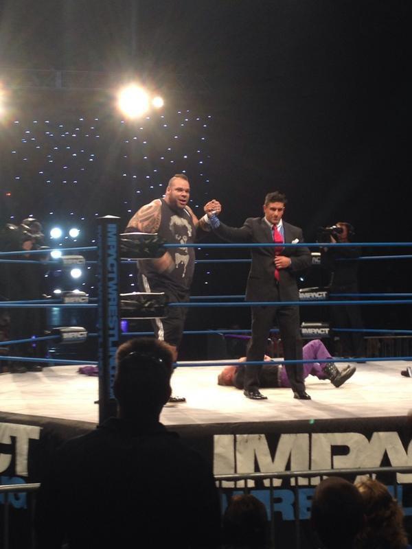 Un ex-catcheur de la WWE débute à la TNA