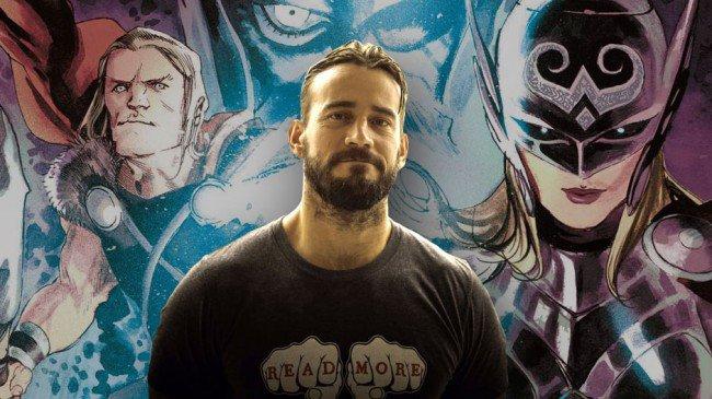 CM Punk, prochain scénariste de Thor ?