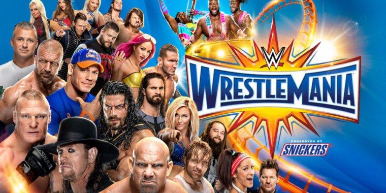 WrestleMania 33 : Les résultats ( court )