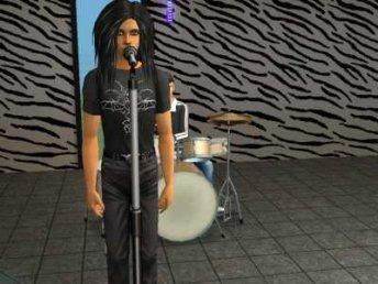 Bill k version sims avec ca coiffure  et tom avec ces dread