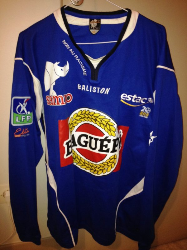 maillot ES TROYES AC 2006 / 2007