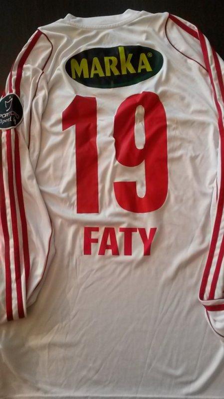 Maillot porté par FATY contre Galatasaray