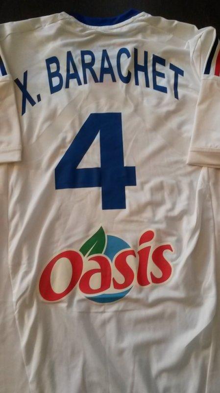 Maillot porté par Xavier Barachet contre l'Islande lors du Mondial 2013