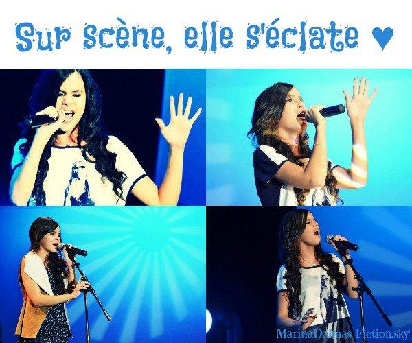 """06/10/2012 : Marina a chanté hier soir pour l'association """"Rêves 13"""""""