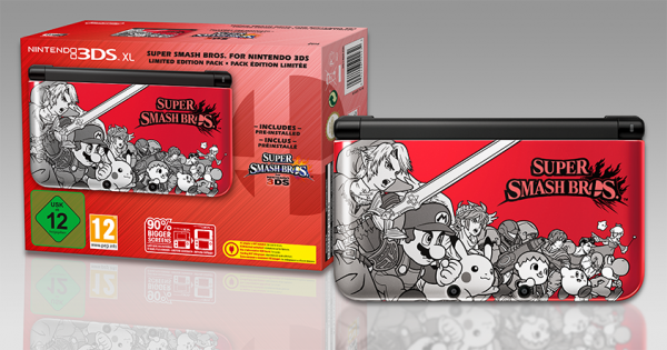 Super Smash Bros sur 3DS !